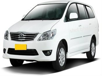Book Toyota innova taxi from ahmedabad airport at just 18rs per k.m